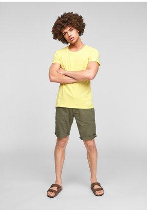 Basic T-shirt - citrus yellow