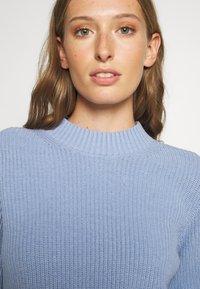 Selected Femme - SLFLESLIE O-NECK - Trui - brunnera blue - 4