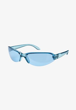 Sunglasses - neon blue
