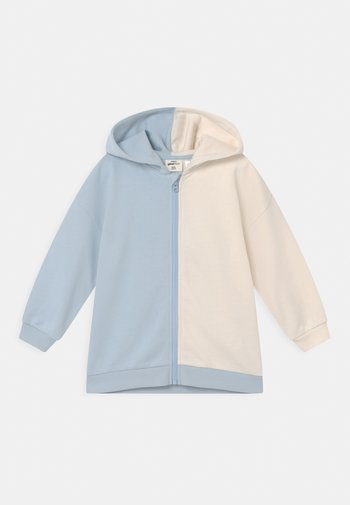 MINI ZIP HOOD UNISEX - Zip-up sweatshirt - skyway/tofu