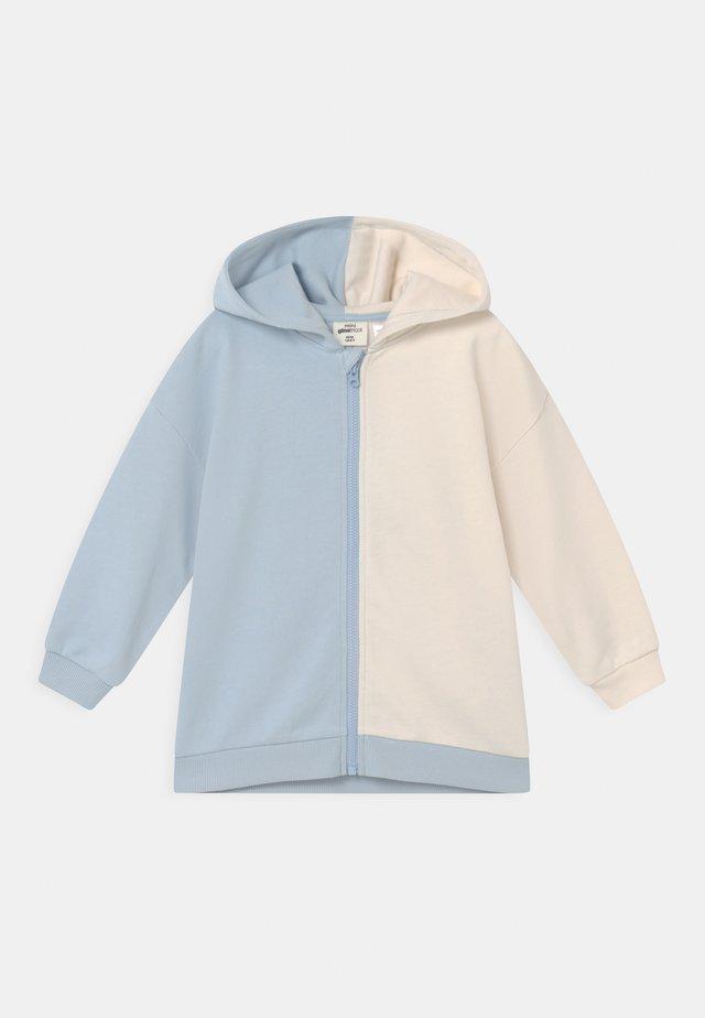 MINI ZIP HOOD UNISEX - Zip-up hoodie - skyway/tofu