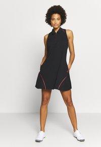 adidas Golf - DRESS - Sukienka z dżerseju - black - 1