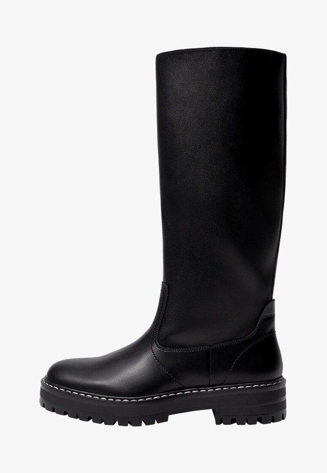 LARS - Platform boots - noir