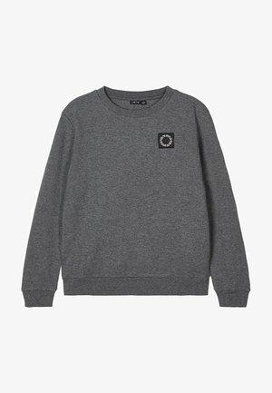 RUNDHALSAUSSCHNITT - Sweater - dark grey melange