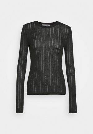 KATJA LONGSLEEVE - Long sleeved top - black