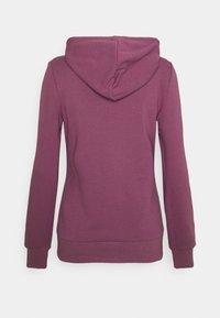 Even&Odd - Slim Fit Zip Sweat Jacket - Zip-up sweatshirt - purple - 1