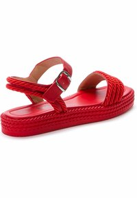 Betsy - Platform sandals - red - 2