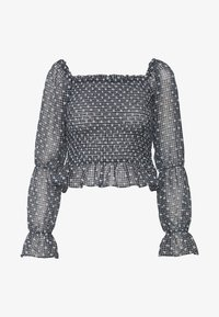 Vero Moda Petite - VMCARMEN SMOCK  - Blůza - cashmere blue - 4