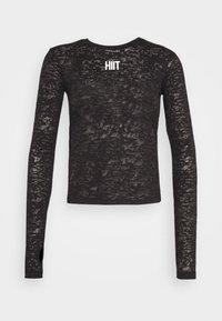 HIIT - Camiseta de manga larga - black - 4