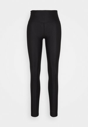 CLIRA HIGH WAIST - Legginsy - black beauty