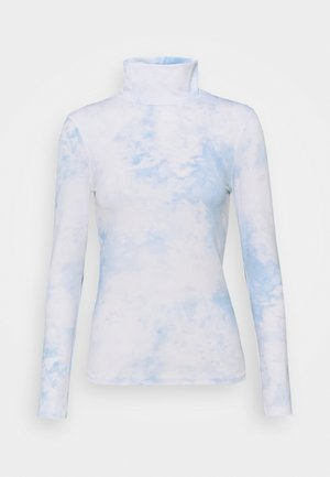 STEFANIE GIESINGER X nu-in TURTLENECK SECOND SKIN TOP - Longsleeve - sky