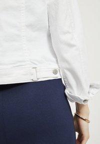 Vila - VISHOW - Denim jacket - snow white - 4