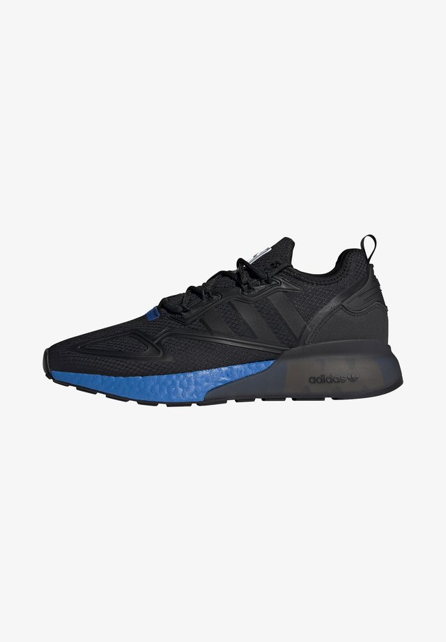 ZX 2K BOOST UNISEX - Sneakers laag - core black/glow blue