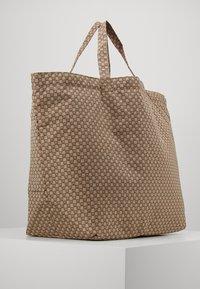 InWear - TRAVEL TOTE BAG - Tote bag - beige/black - 0