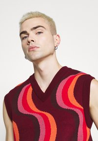 Jaded London - 70S WAVE - Jumper - red - 5
