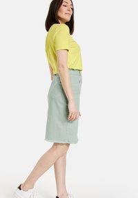 Gerry Weber - Pencil skirt - aqua grey - 2