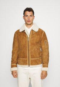 Serge Pariente - KENNEDY - Leather jacket - camel - 0