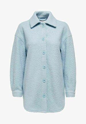 Krótki płaszcz - cashmere blue