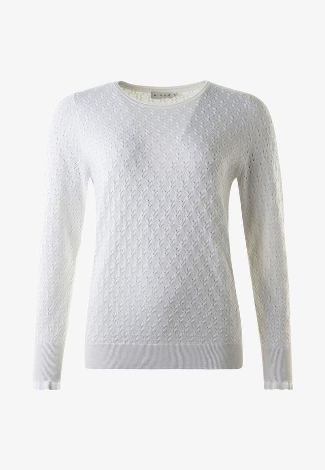 JILL - Stickad tröja - offwhite