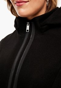 Triangle - MIT REISSVERSCHLUSS-DETAIL - Classic coat - black - 3