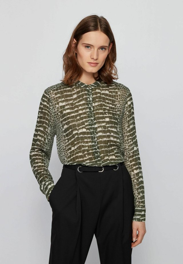 BESTORY - Button-down blouse - patterned