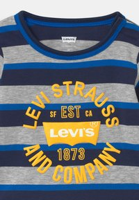 Levi's® - STRIPED - Long sleeved top - dark blue