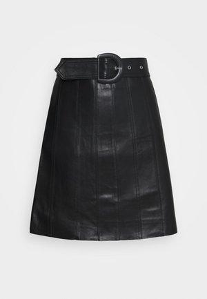 LEENA - Skinnskjørt - noir