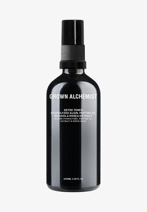 DETOX TONER HYDROLIZED ALGIN, PEPTIDE-33, RHODIOL ROSEA EXTRACT - Ansigtsvand - -