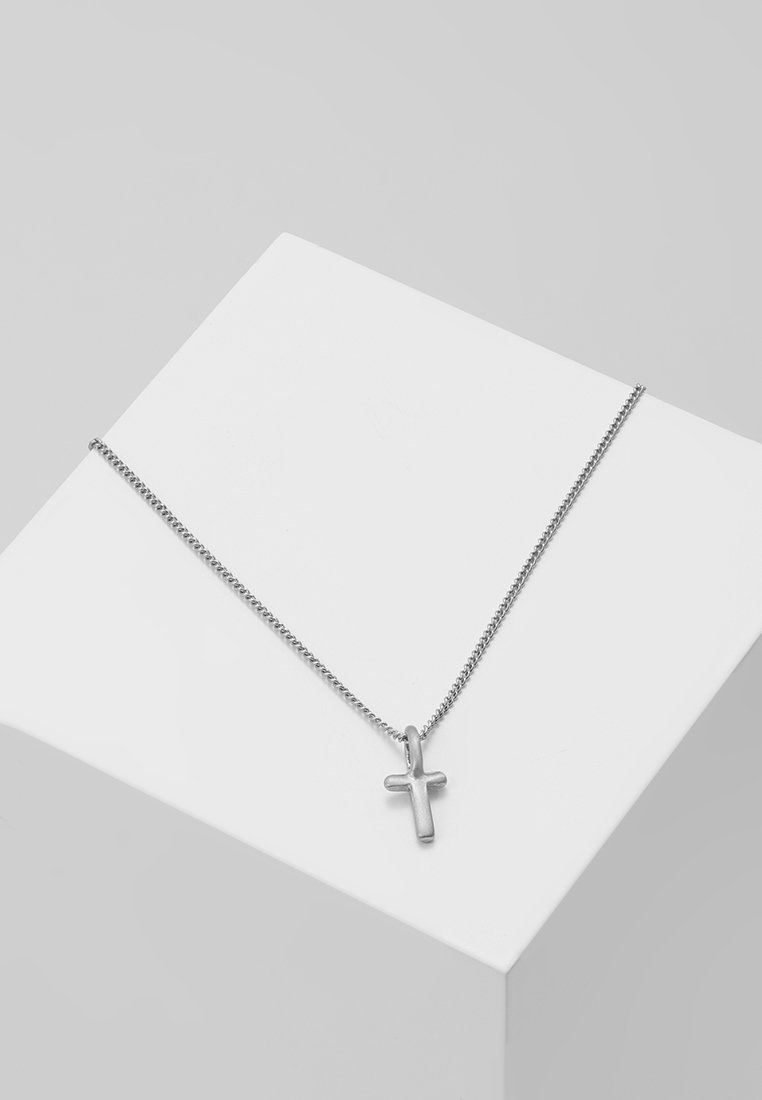 Pilgrim - NECKLACE T - Naszyjnik - silver-coloured