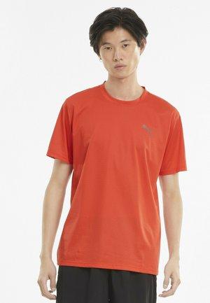 T-shirts basic - poppy red