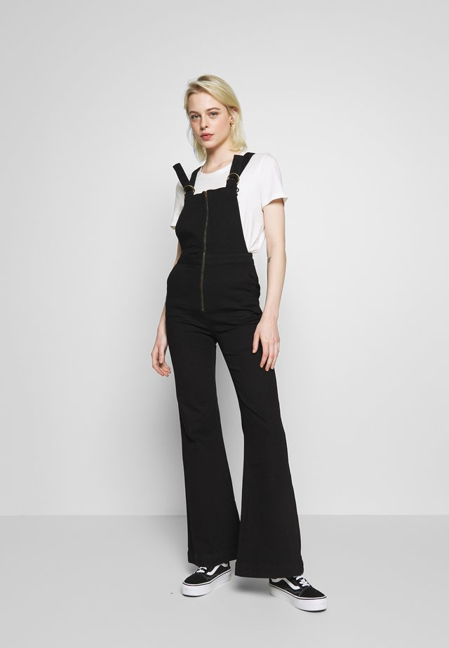 EASTCOAST FLARE OVERALL - Dungarees - galaxy black