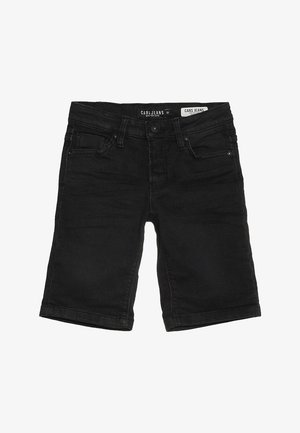 KIDS TUCKY - Denim shorts - black used