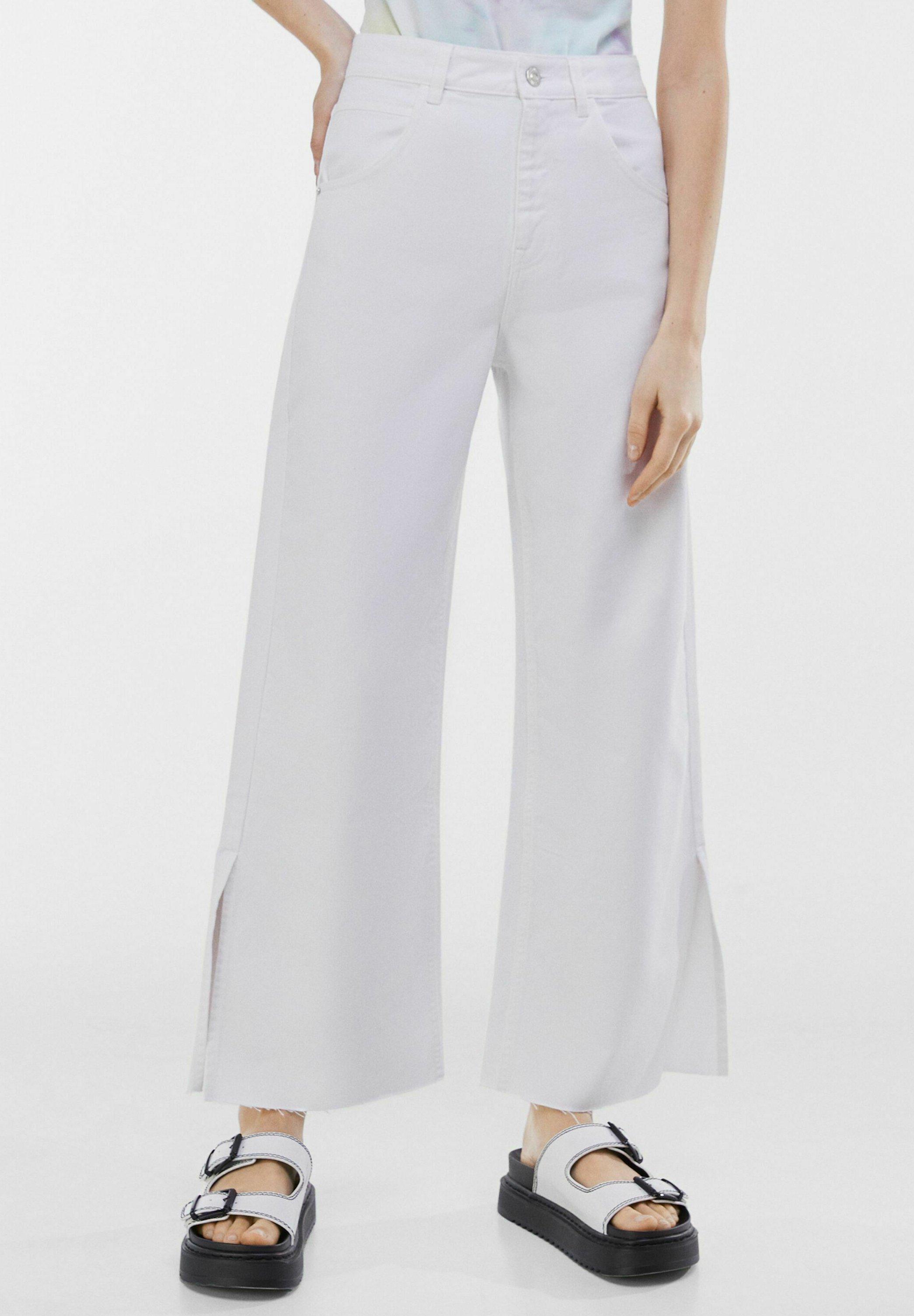Damer MIT SCHLITZEN AM SAUM - Flared jeans