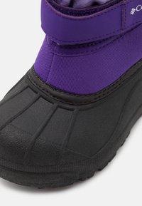 Columbia - CHILDRENS POWDERBUGPLUS II UNISEX - Winter boots - emperor/paisley purple - 5