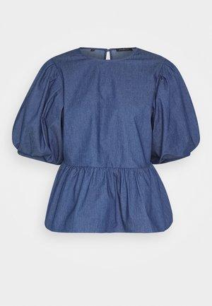 MARINA - Blouse - medium blue denim
