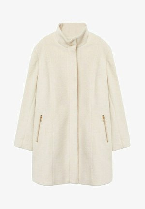 BUCLE - Classic coat - écru