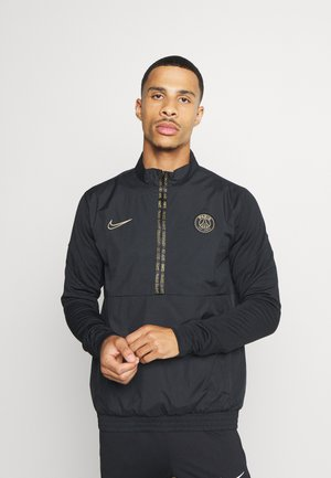 PARIS ST GERMAIN  - Club wear - black/white/truly gold