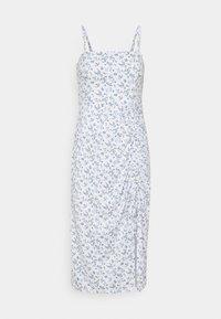 MIDI DRESS - Shift dress - white