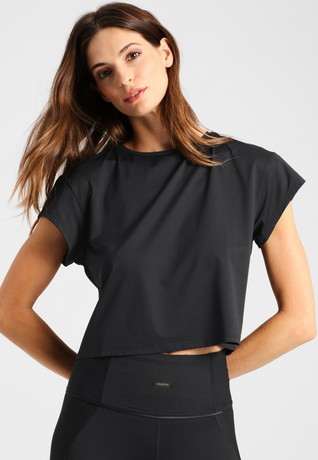 COSMO - Basic T-shirt - black