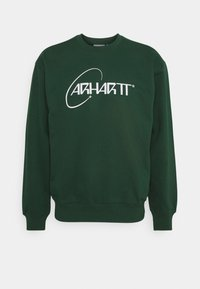 Carhartt WIP - ORBIT - Sweatshirt - treehouse/white - 0