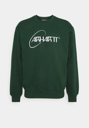 ORBIT - Sweatshirt - treehouse/white