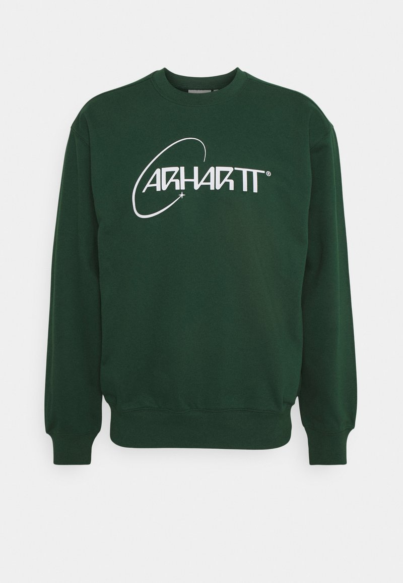 Carhartt WIP - ORBIT - Sweatshirt - treehouse/white