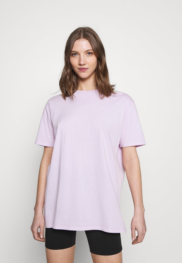THE OVERSIZED DAD TEE - Jednoduché triko - powder lilac