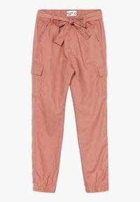 Abercrombie & Fitch - UTILITY  - Spodnie materiałowe - rust - 0