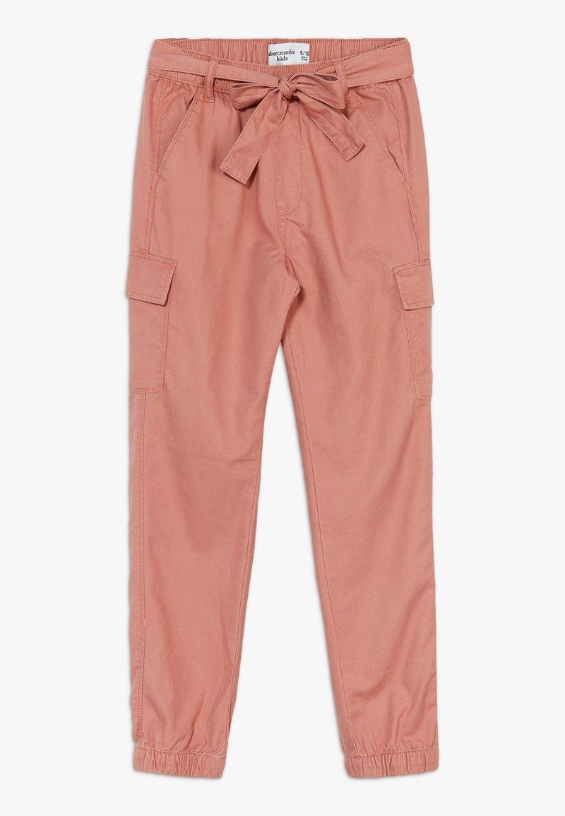 Abercrombie & Fitch - UTILITY  - Spodnie materiałowe - rust