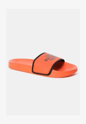 Sandales de bain - flame/tnf black