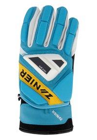 Zanier - Gloves - türkis-gelb - 1