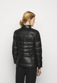 Lauren Ralph Lauren - PEARL SHEEN RACER MOTO SOFT - Down jacket - black - 2