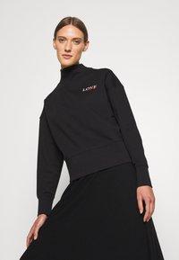 HUGO - DAKERSTIN - Športni pulover - black - 3