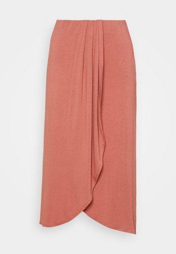 PCNEORA SKIRT - Pencil skirt - canyon rose